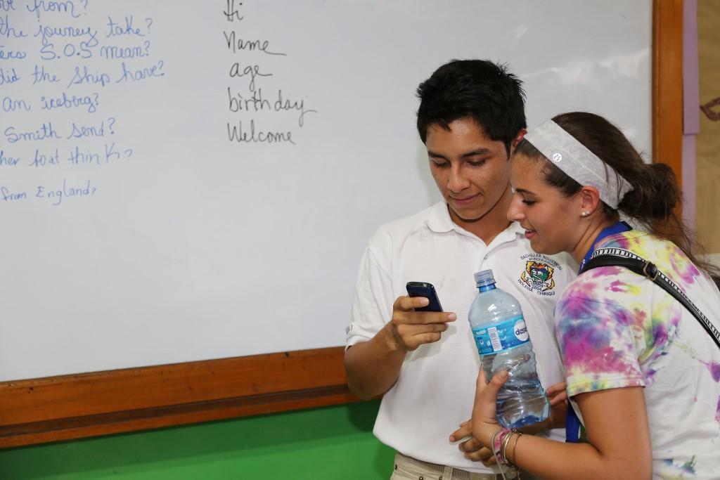 Phone in Class